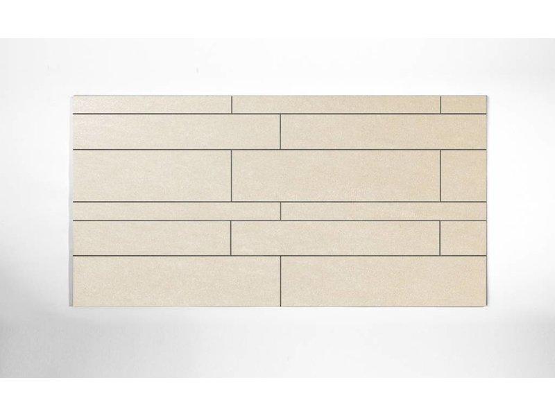 Feinsteinzeug unglasiert Format Mix - PICCADILLY hellbeige- 4,8+9,8+14,8x60 cm