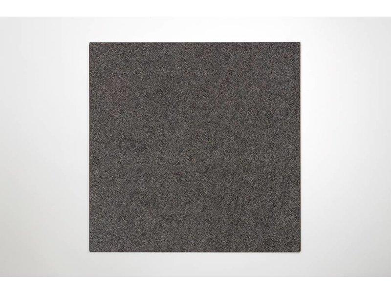 Feinsteinzeug glasiert - TERRA +Cloud Noir (schwarz) - 60x60 cm