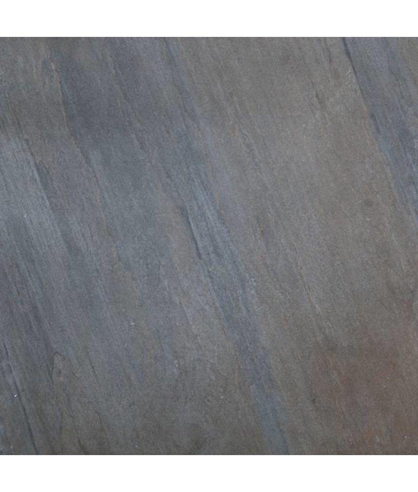 Terrassenplatten - TERRA Texture braun grau - 60x60x2 cm