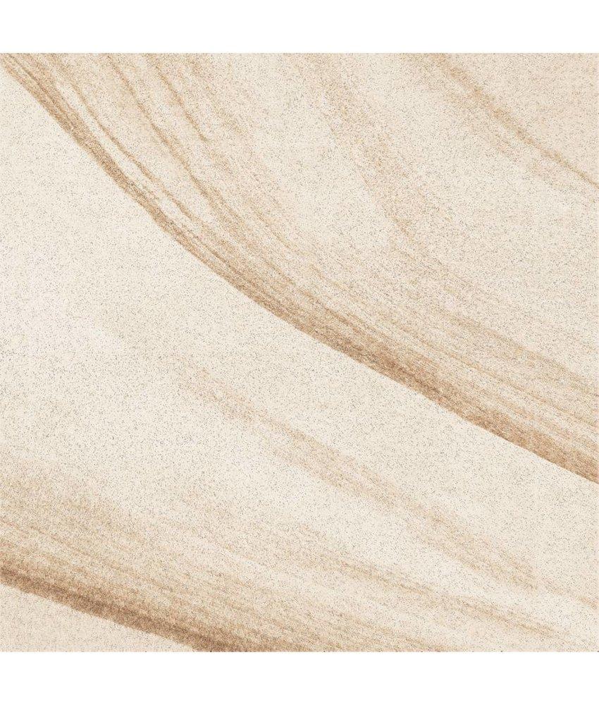Terrassenplatten - TERRA Texture Mansion beige - 60x60x2 cm