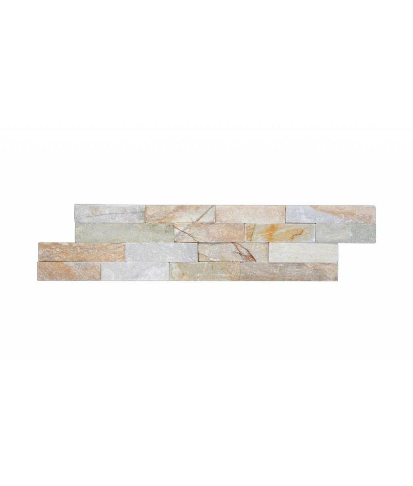 Brickstones - Plaza beige - 10x40 cm