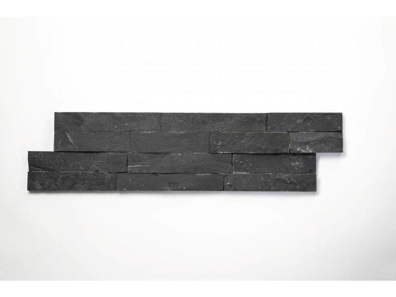 Brickstones - Schiefer nero (1,5-2,5 cm) - 15x55 cm