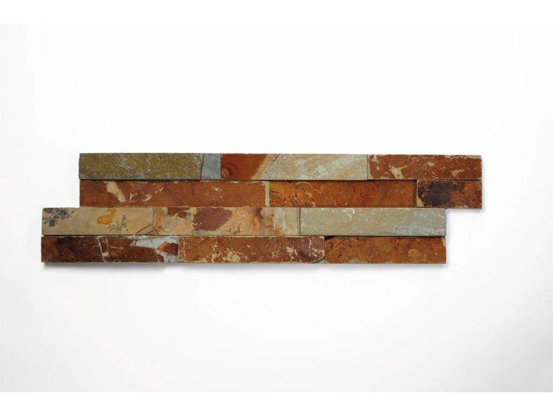 Brickstones - Schiefer multicolour (1,5-2,5 cm) - 15x55 cm