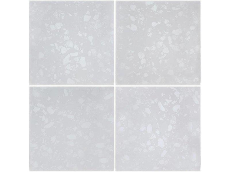 BÄRWOLF BÄRWOLF Ambience Flakes White KE-17070 - 18,5 cm x 18,5 cm