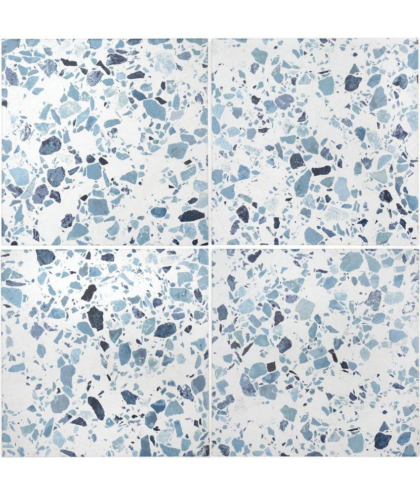 BÄRWOLF Ambience Flakes Blue KE-17071 - 18,5 cm x 18,5 cm