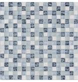 BÄRWOLF BÄRWOLF Kombimosaik Tuscany Ocean Blue GL-17004 - 29,8 cm x 29,8 cm