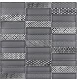 BÄRWOLF BÄRWOLF Kombimosaik Laura Grey GL-17003 - 29,8 cm x 29,8 cm