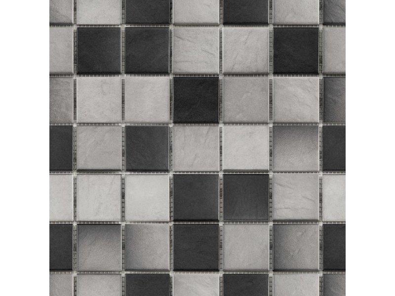 BÄRWOLF BÄRWOLF Keramikmosaik Grip Mix III  GTM-16806 - 31,4 cm x 31,4 cm