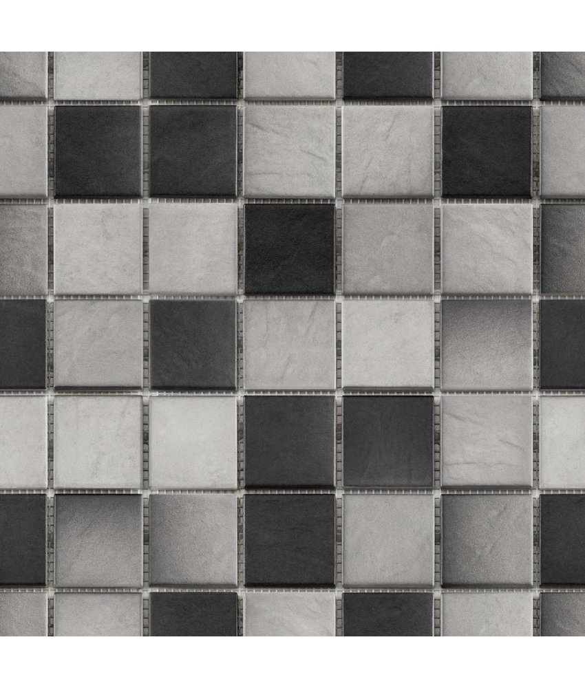 BÄRWOLF Keramikmosaik Grip Mix III  GTM-16806 - 31,4 cm x 31,4 cm
