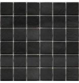 BÄRWOLF BÄRWOLF Keramikmosaik Grip Midnight Black GTM-16807 - 31,4 cm x 31,4 cm