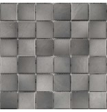 BÄRWOLF BÄRWOLF Keramikmosaik Grip Grau GTM-16808 - 31,4 cm x 31,4 cm