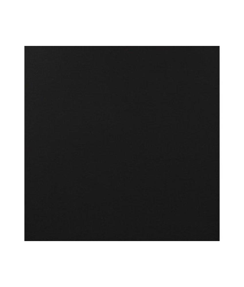 Bodenfliese Alaska Schwarz glasiert glänzend - 61,5 cm x 61,5 cm x 1 cm