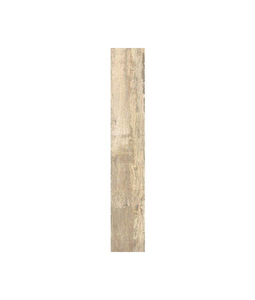 Bodenfliese Mertens Beige Holzoptik  glasiert matt - 19,5 cm x 121,5 cm x 1 cm