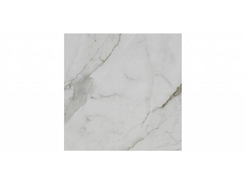 Bodenfliese Aria White Poliert - 58 cm x 58 cm x 1 cm