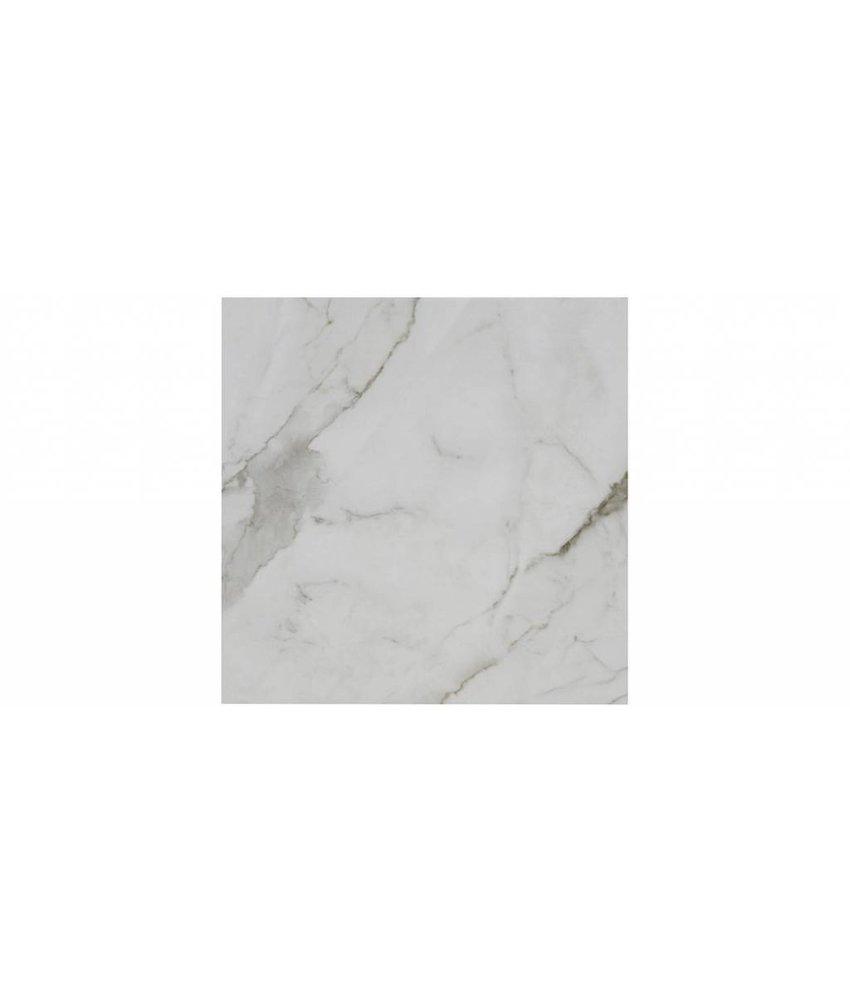 Bodenfliese Arya White  Betonoptik glasiert - 58 cm x 58 cm x 1 cm