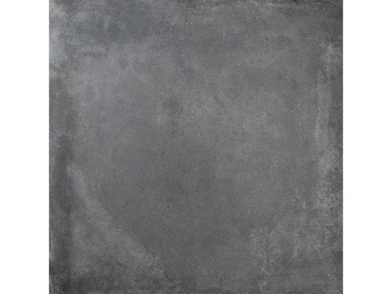 Bodenfliese Sultan Anthrazit Betonoptik glasiert -75 cm x 75 cm x 1 cm