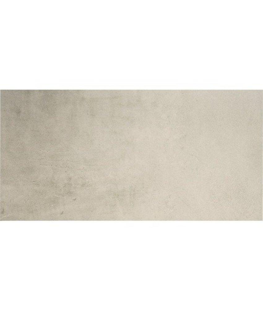 Bodenfliese Sabbia Grau Feinsteinzeug  glasiert matt 40 cm x 80 cm x 1 cm