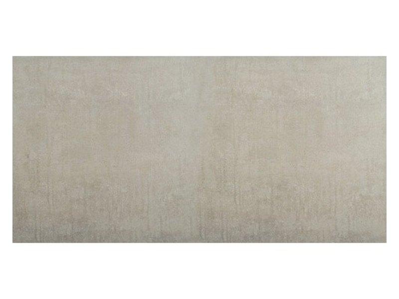 Bodenfliese Brasilia Hellgrau Feinsteinzeug glasiert matt - 60  cm x 120 cm x 1,1 cm