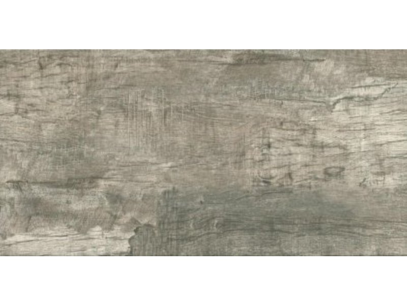 Bodenfliese Kanu Smoke Feinsteinzeug glasiert matt - 45 cm x 90 cm x 1 cm