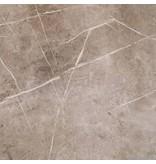 Bodenfliese Chellsi Braun Feinsteinzeug Poliert - 58 cm x 58 cm x 1 cm