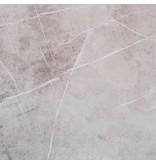 Bodenfliese Chelsea Grau Feinsteinzeug poliert - 58 cm x 58 cm x 1 cm