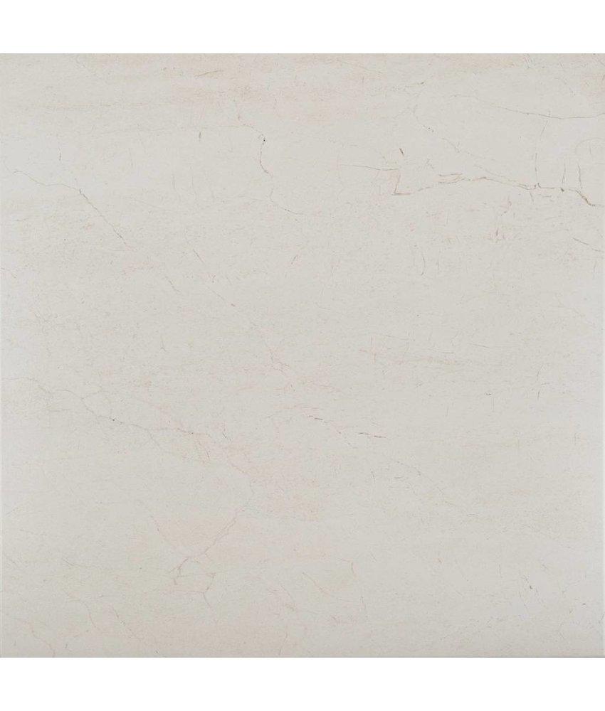 Bodenfliese Crema Marfil Feinsteinzeug matt - 60,4 cm x 60,4 cm x 1 cm