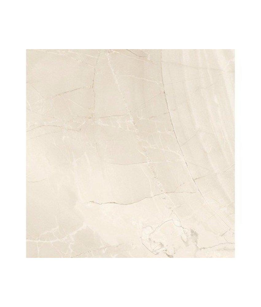 Bodenfliese Crystal Beige Feinsteinzeug matt - 60,4 cm x 60,4 cm x 1 cm
