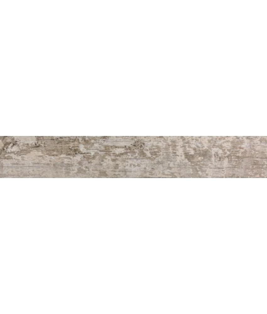 Bodenfliese Avoque Weiß Feinsteinzeug poliert - 15 cm x 90 cm x 1 cm