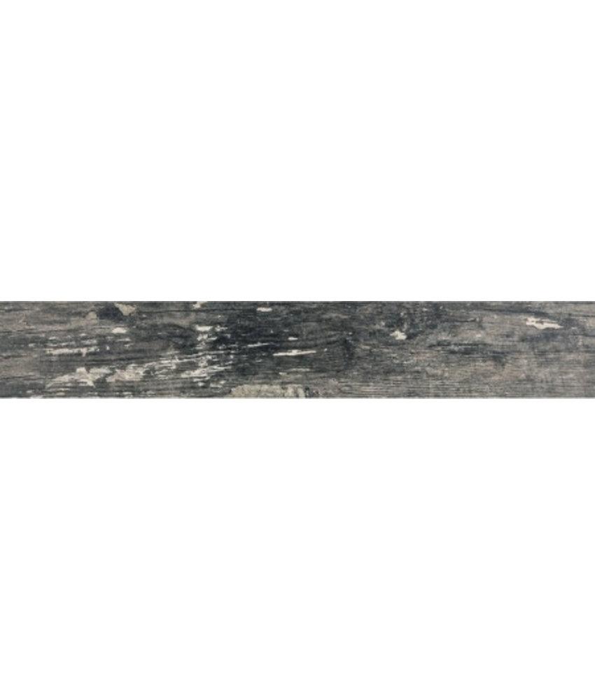 Bodenfliese Dakota Gris Feinsteinzeug poliert - 15 cm x 90 cm x 1 cm