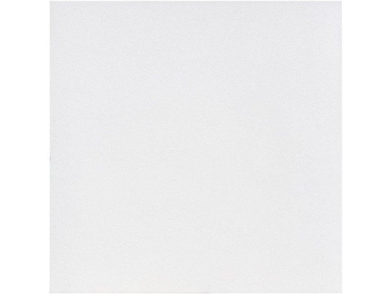 Bodenfliese Divina Weiß Feinsteinzeug matt - 60 cm x 60 cm x 1 cm