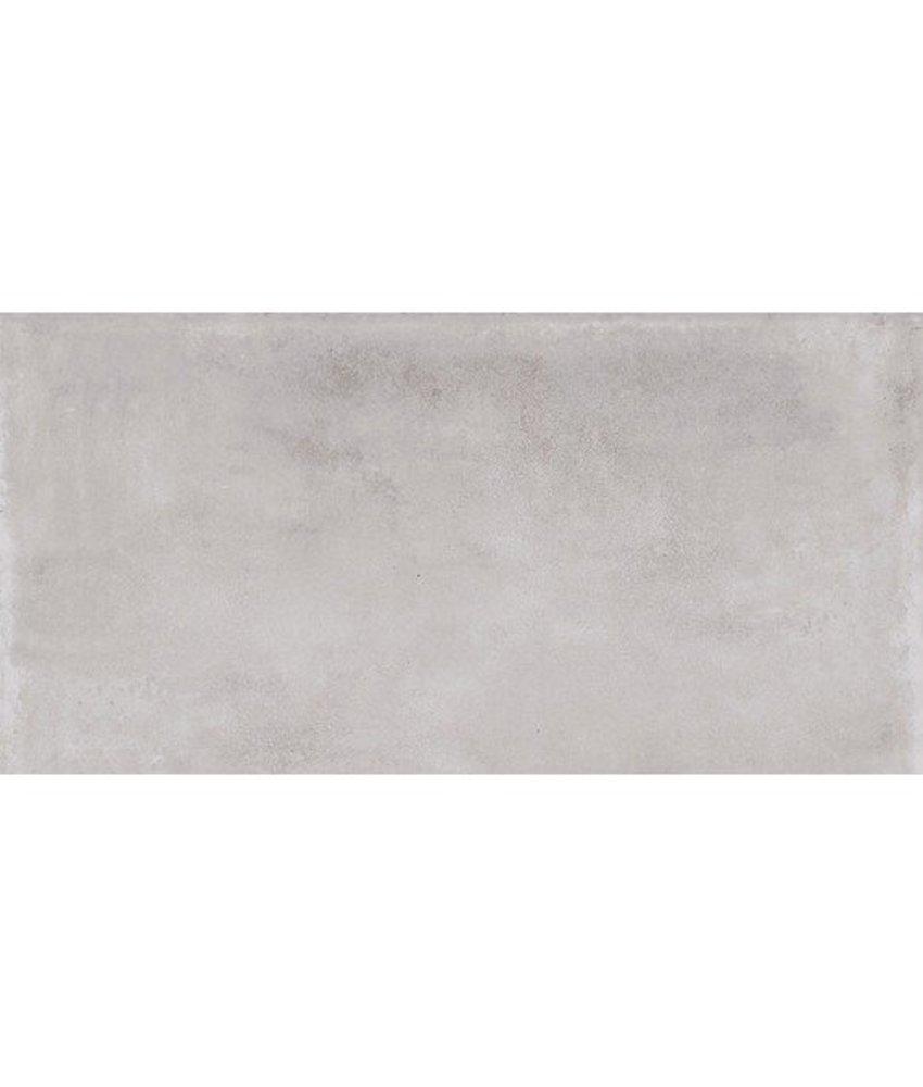 Bodenfliese Divina Grau Feinsteinzeug glasiert - 30 cm x 60 cm x 1 cm