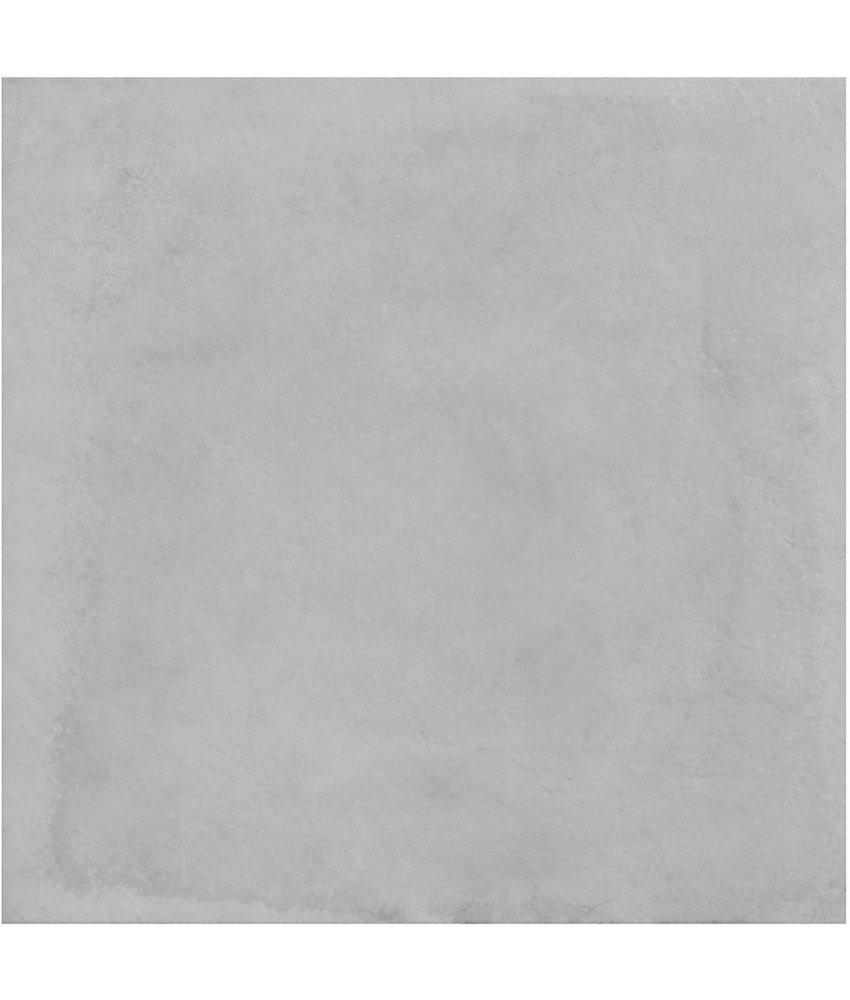 Bodenfliese Mondel Weiß Feinsteinzeug matt - 61 cm x 61 cm x 0,9 cm