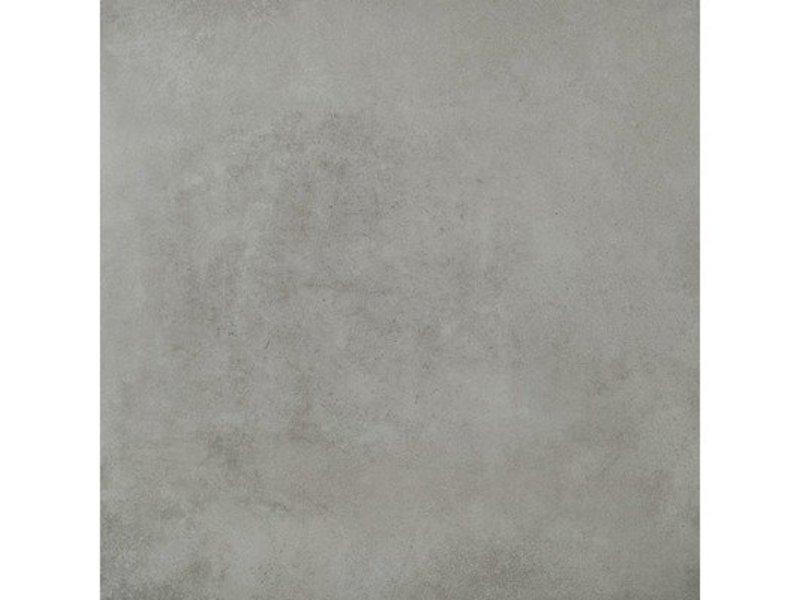 Bodenfliese Doimen Grau Feinsteinzeug matt - 61 cm x 61 cm x 0,9 cm