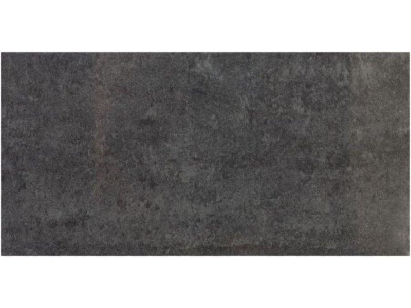Bodenfliese Double Loading Graphit  glasiert - 30 cm x 60 cm x 1 cm