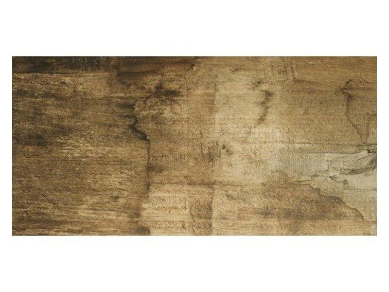Bodenfliese Edgewood Walnuss  Feinsteinzeug matt - 45 cm x 90 cm x 1 cm