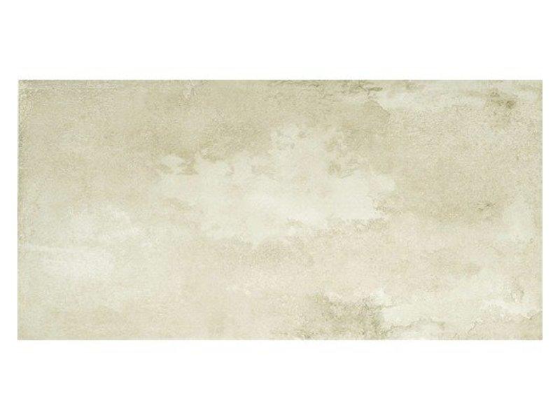 Bodenfliese Elements Oyster Weißgrau matt - 45 cm x 90 cm x 1 cm