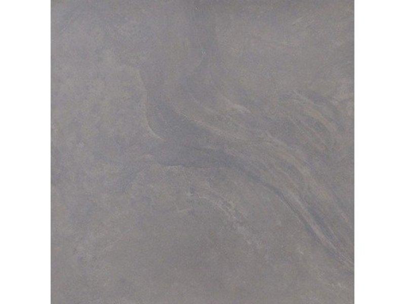 Bodenfliese Geostone Black Feinsteinzeug glasiert glänzend - 60 cm x 60 cm x 1 cm