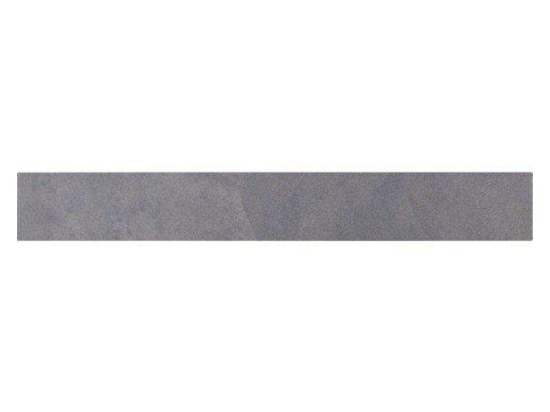 Geostone Black Sockel Feinsteinzeug glasiert glänzend - 60 cm x 8 cm x 1 cm