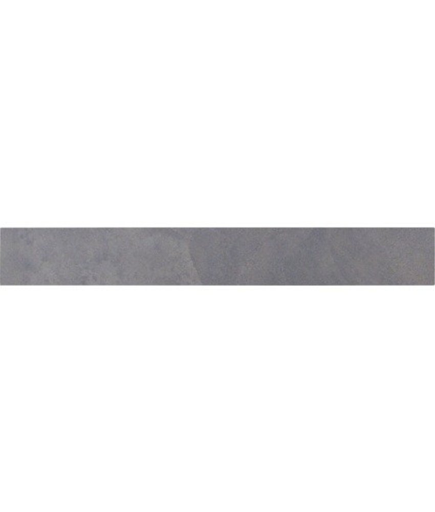 Sockel Geostone Schwarz Feinsteinzeug glasiert - 60 cm x 8 cm x 1 cm