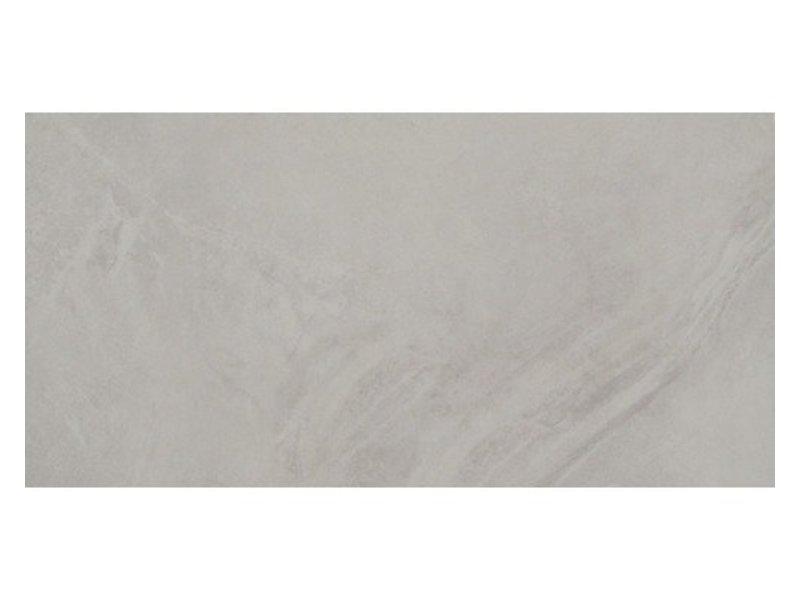 Bodenfliese Geostone Grey Feinsteinzeug glasiert glänzend - 30 cm x 60 cm x 1 cm
