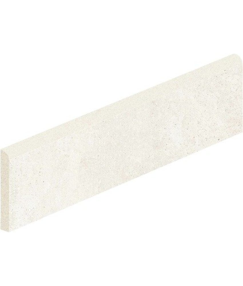 Arctec Ivory Sockel Feinsteinzeug glasiert matt - 7 cm x 60 cm x 0,95 cm