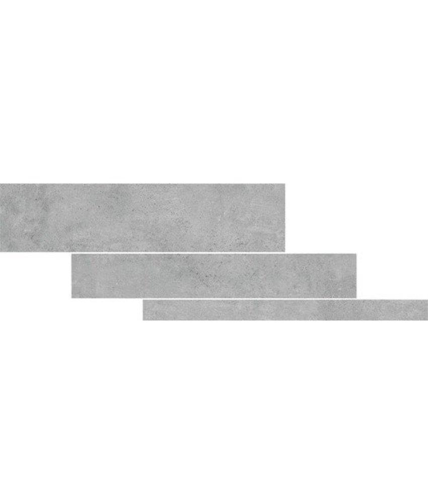 Bodenfliese Arctec Grau Kombifliesen Feinsteinzeug glasiert matt  - 5/10/15x 60 x 0,95