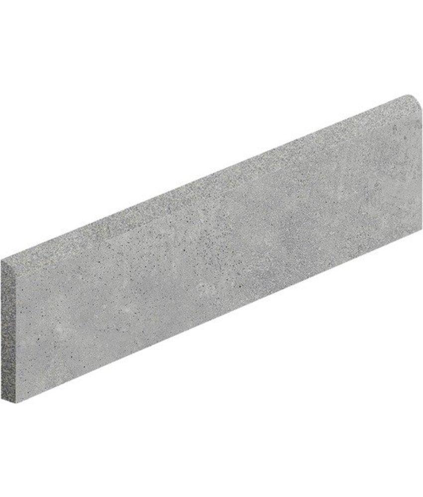 Hometec Grau Sockel Feinsteinzeug glasiert matt - 7 cm x 60 cm x 0,95 cm