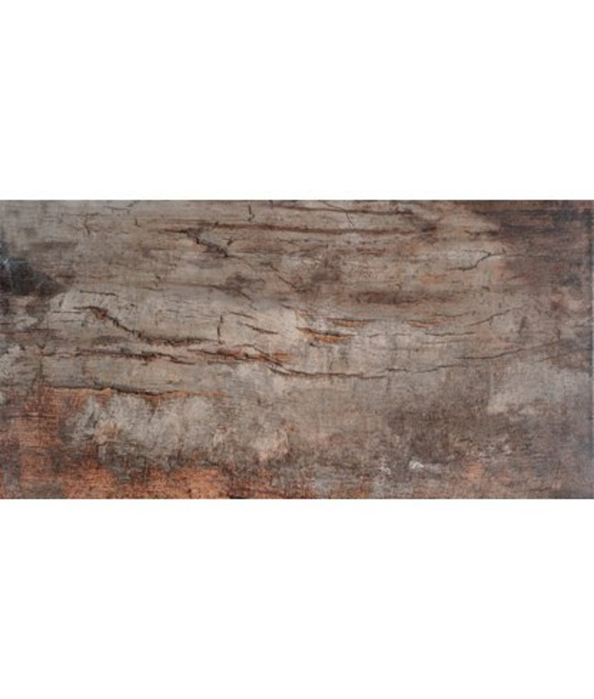 Bodenfliese Ecno Cherry Feinsteinzeug glasiert matt - 30 cm x 60 cm x 0,9 cm