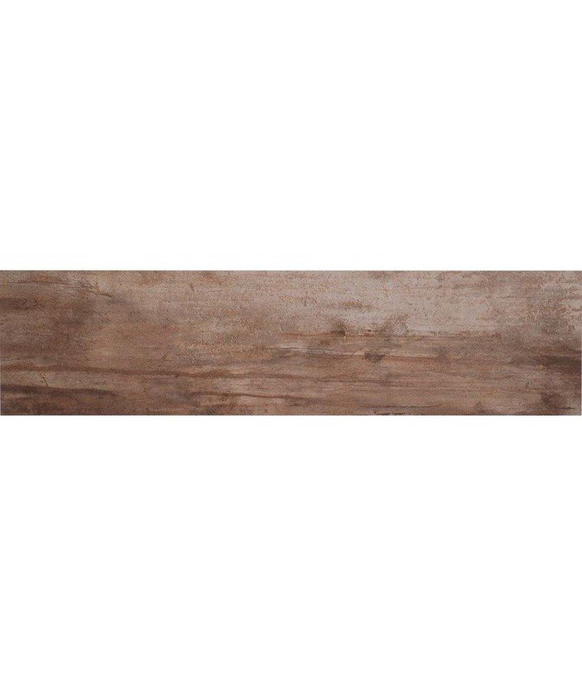 Bodenfliese Legno Bone Feinsteinzeug glasiert poliert - 16 cm x 65 cm x 0,9 cm