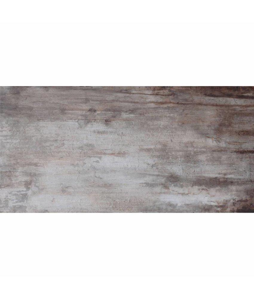 Bodenfliese Legno Denver Back Cole  Feinsteinzeug glasiert poliert - 16 cm x 65 cm x 0,9 cm