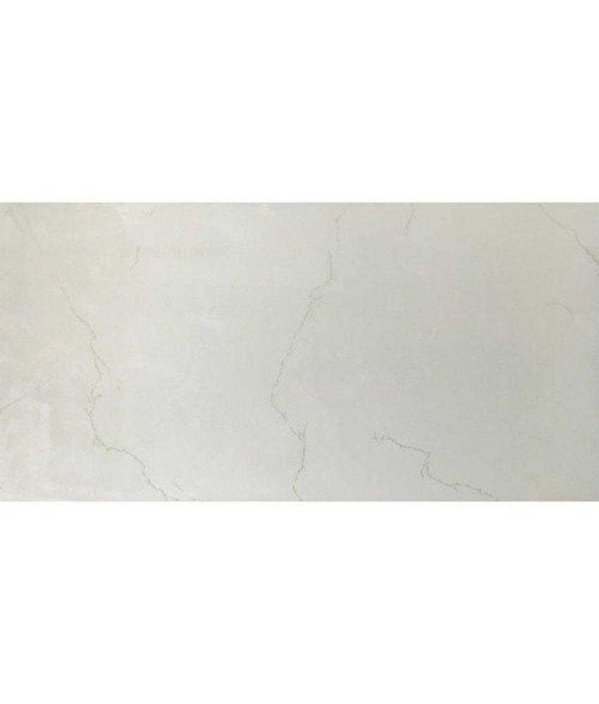 Bodenfliese Loire Beige Feinsteinzeug poliert - 30 cm x 60 cm x 1 cm
