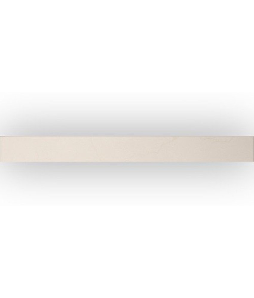 Laurent Beige Sockel Feinsteinzeug poliert - 6 cm x 60 cm x 1 cm