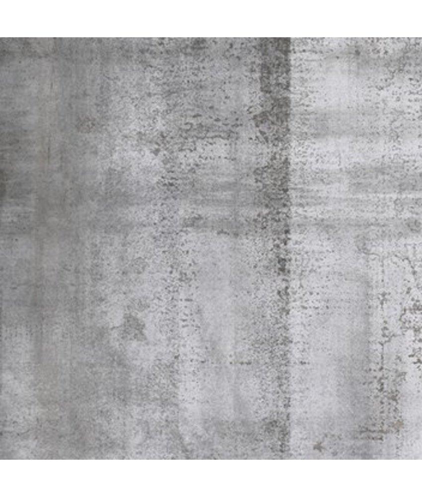 Bodenfliese Luna Grau Feinsteinzeug glasiert matt - 60 cm x 60 cm x 1 cm