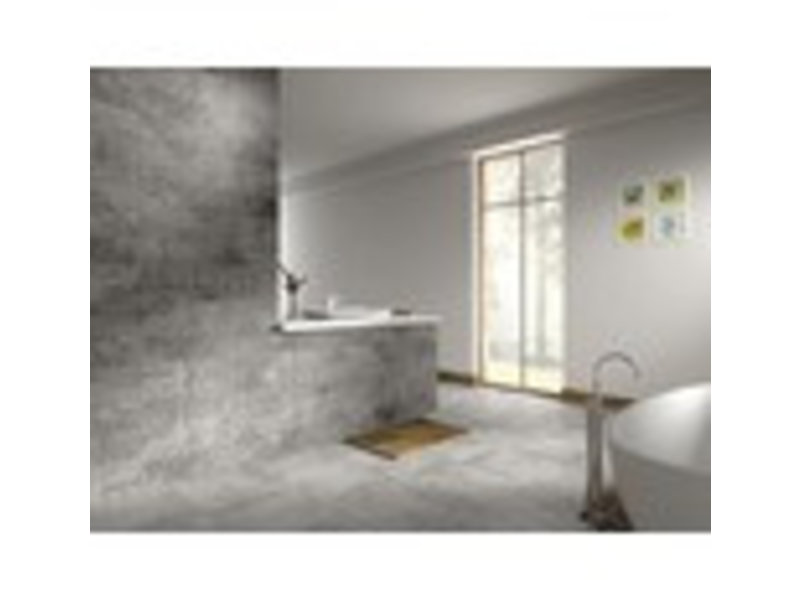 Bodenfliese Madrid Light Grey Feinsteinzeug glasiert matt - 42,5 cm x 42,5  cm x 0,8